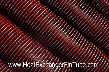 A106 Gr.B SMLS Carbon Steel Helical Welded Fin Tubes Solid Type